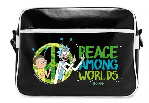 RICK & MORTY - Messenger Bag Vinyl - Peace