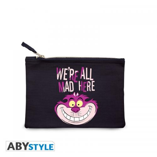 DISNEY - Trousse à maquillage - We're all mad here