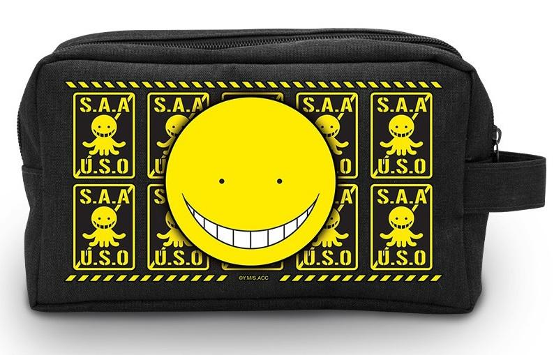ASSASSINATION CLASSROOM - Koro Sensei - Trousse de toilette_1