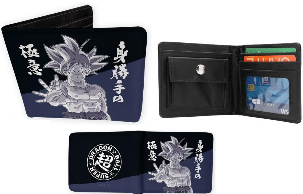 DRAGON BALL SUPER - Goku Ultra Instinct - Portefeuille Vinyle_1