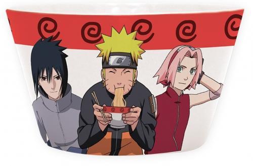 NARUTO - Naruto, Sasuke & Sakura - Bol 460 ml