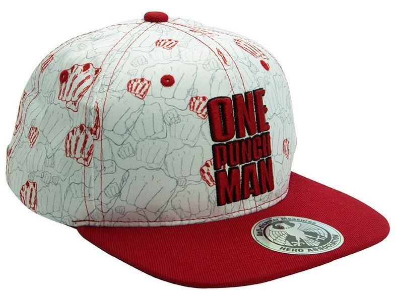 ONE PUNCH MAN - Poings - Casquette Snapback_1