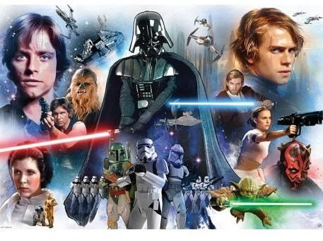 STAR WARS - Groupe - Poster '98x68cm'