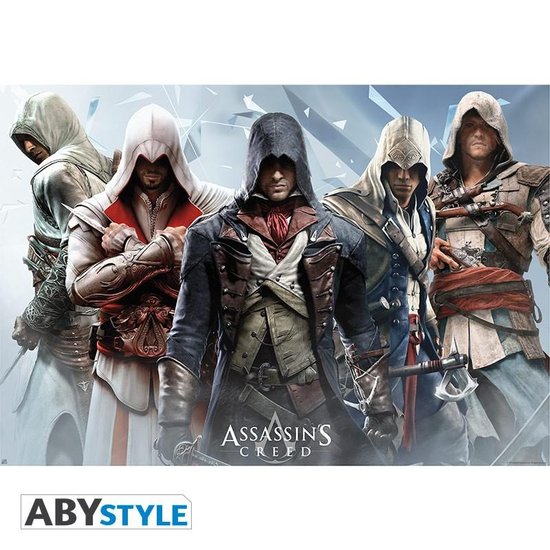 ASSASSIN'S CREED - Poster 91X61 - Groupe