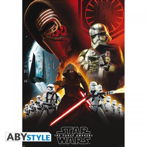 STAR WARS - Group First Order - Poster '98x68cm'
