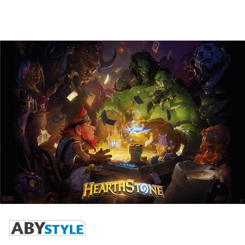 HEARTHSTONE - Poster 91X61 - Key Art