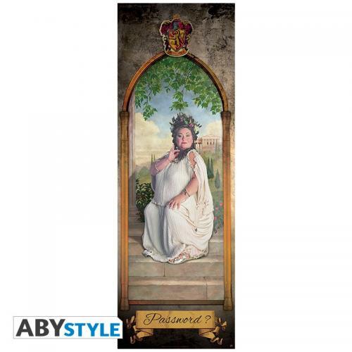 HARRY POTTER - Poster de porte - Grosse Dame - 53x158