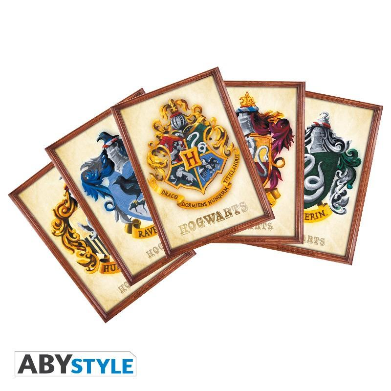 HARRY POTTER - Set de 5 Cartes Postales