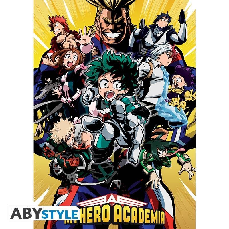 MY HERO ACADEMIA - Poster 91X61 - Groupe