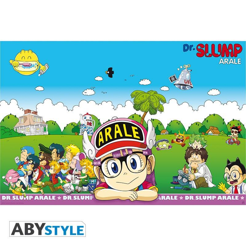 DR SLUMP - Poster 91X61 - Penguin Village