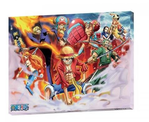 ONE PIECE - Equipage - Toile '30x40cm'
