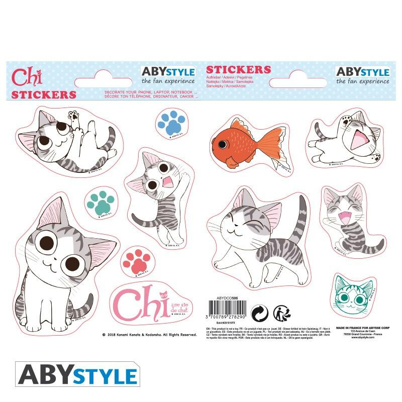 CHI - Stickers - 16x11cm / 2 planches - Chi