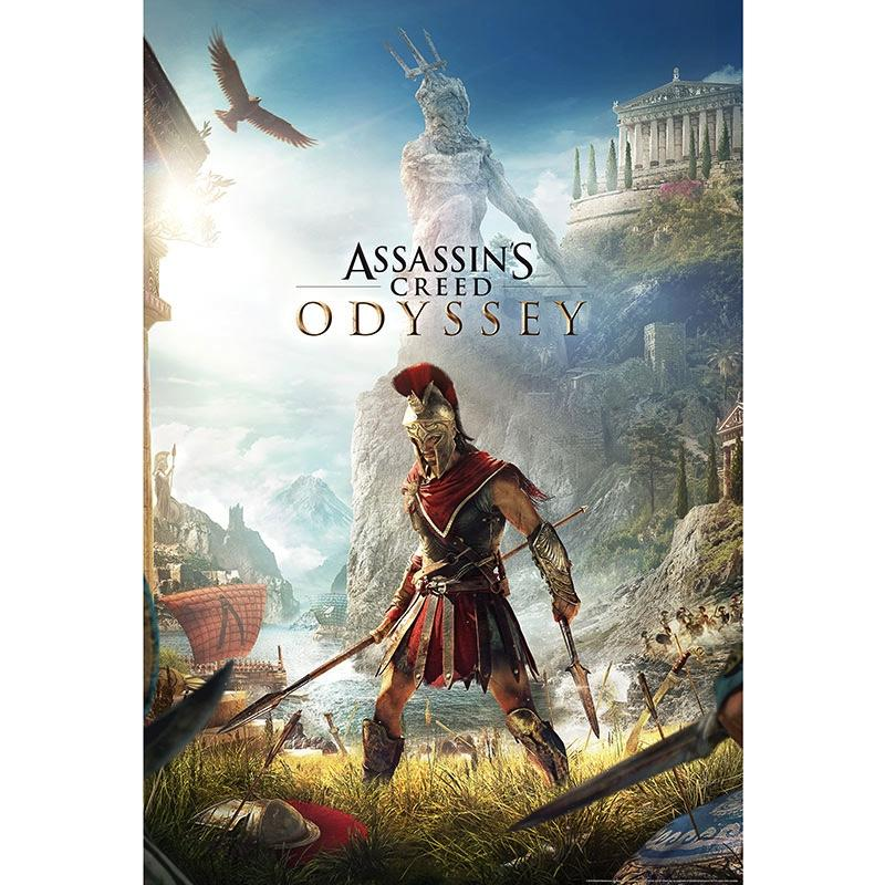 ASSASSIN'S CREED ODYSSEY - Poster 91X61 - Keyart