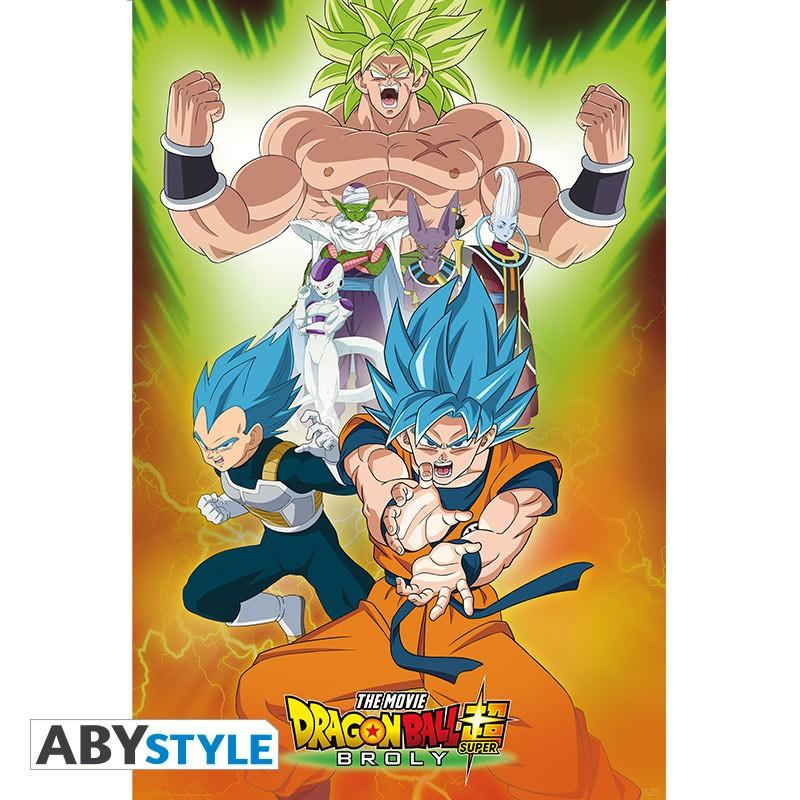DRAGON BALL BROLY - Poster 91X61 - Groupe