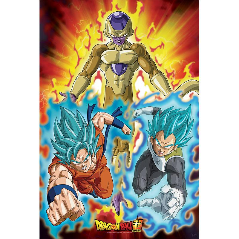 DRAGON BALL SUPER - Poster 91X61 - Golden Freezer