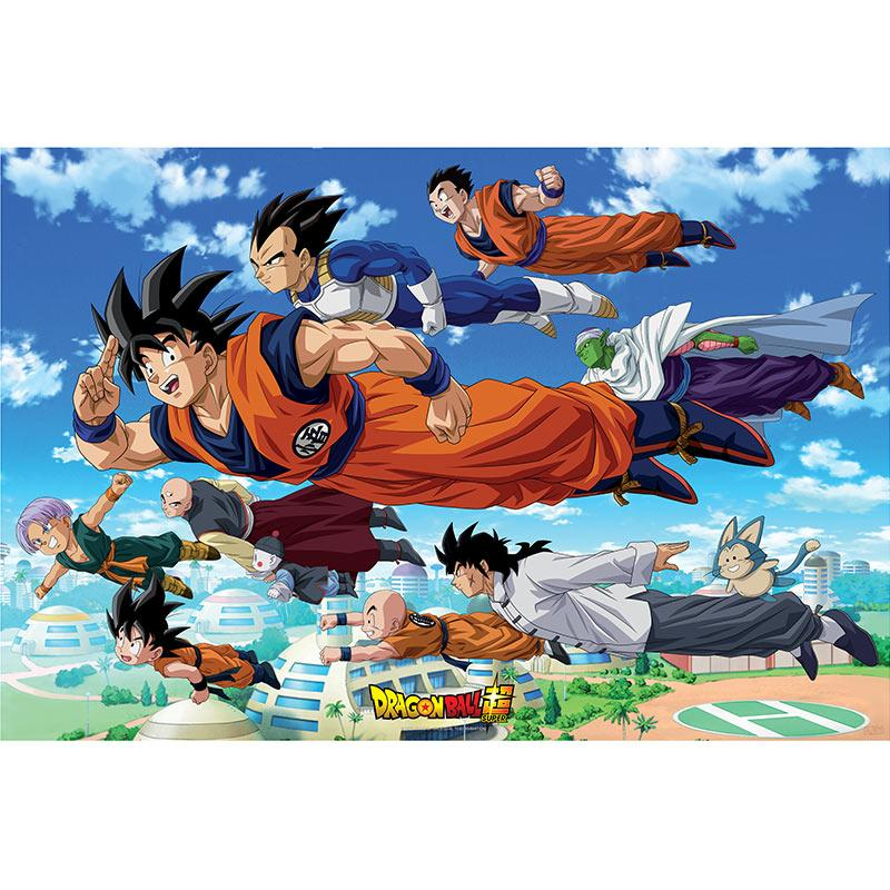 DRAGON BALL SUPER - Poster 91X61 - Groupe Goku