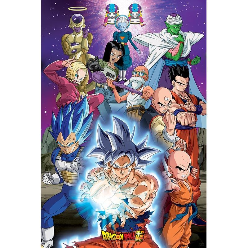 DRAGON BALL SUPER - Poster 91X61 - Univers 7