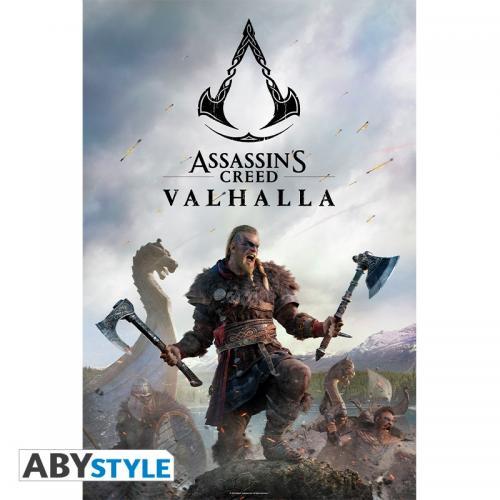 ASSASSIN'S CRRED VALHALLA - Raid - Poster '91x61'