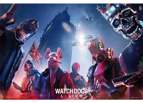 WATCH DOGS LEGION - Keyart Legion - Poster '91x61'