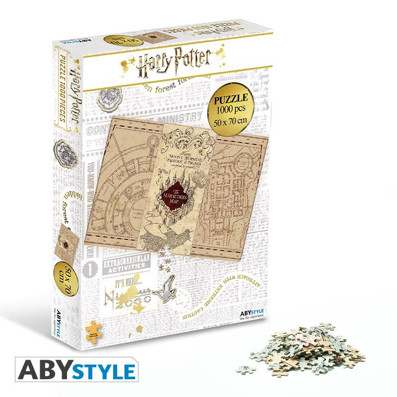 HARRY POTTER - Puzzle 1000 pièces - Carte du Maraudeur_3