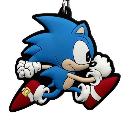 SONIC - Porte-Cles PVC - Sonic Run