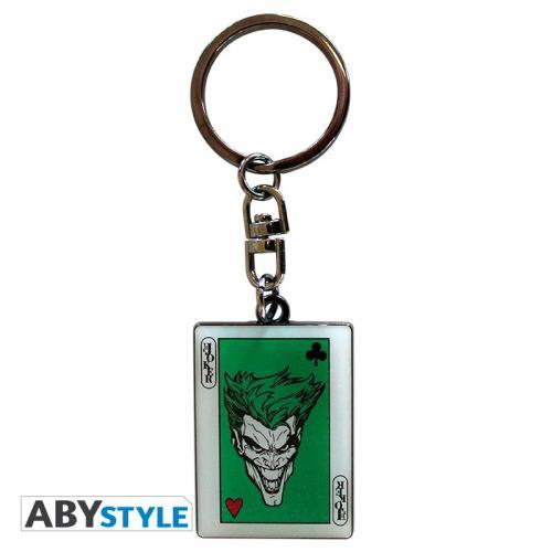 DC COMICS - Porte-Cles Metal - Carte Joker