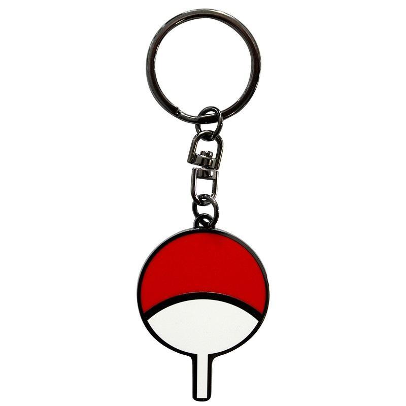 NARUTO - Uchiwa - Porte-clés en métal_1