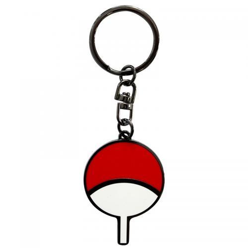 NARUTO - Uchiwa - Porte-clés en métal