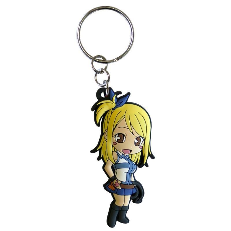 FAIRY TAIL - Porte-Cles PVC - Lucy
