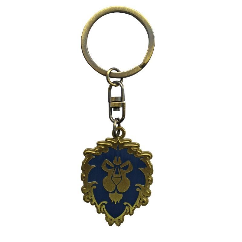 WORLD OF WARCRAFT - Porte-Cles Metal - Aliance