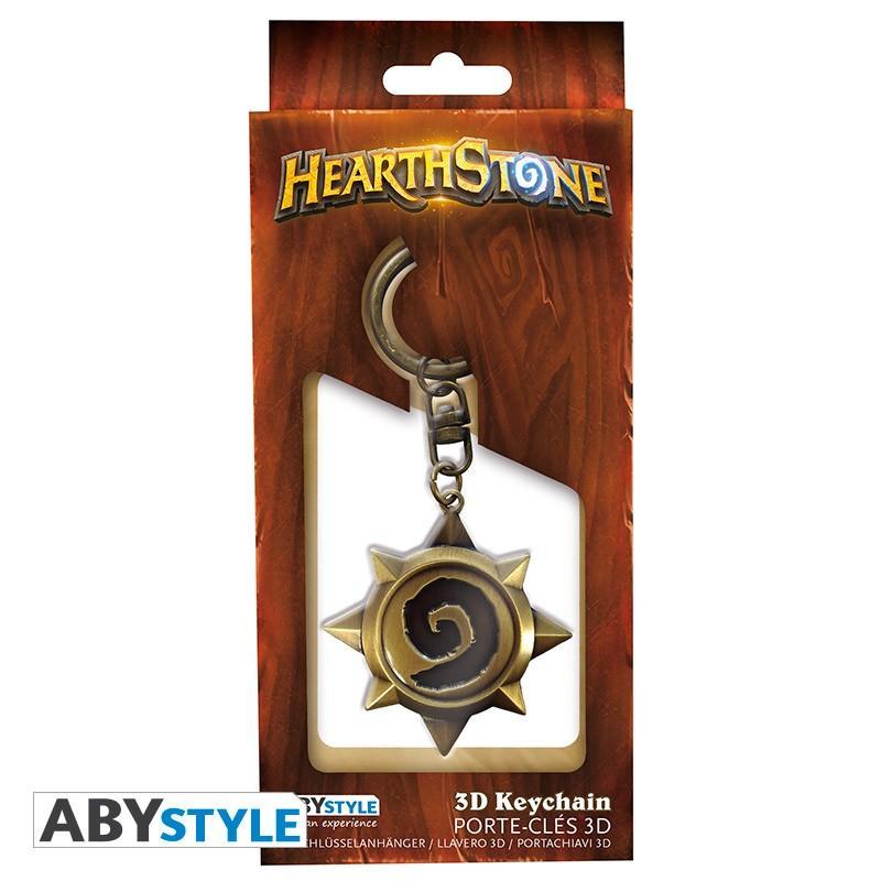 HEARTHSTONE - Porte-Cles Metal 3D - Rosace_3