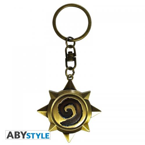 HEARTHSTONE - Porte-Cles Metal 3D - Rosace