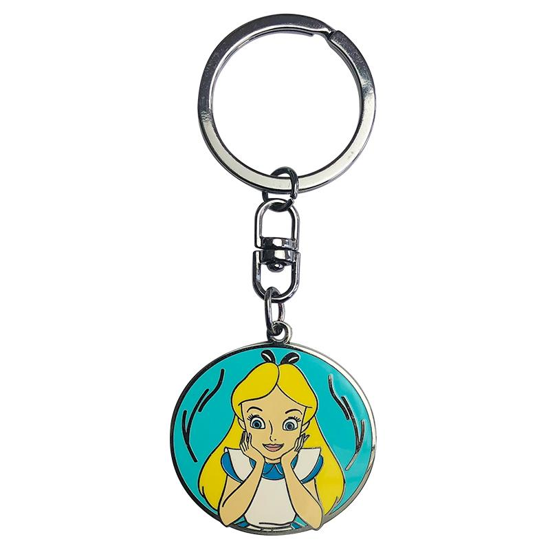 DISNEY - Porte-Cles Metal - Alice