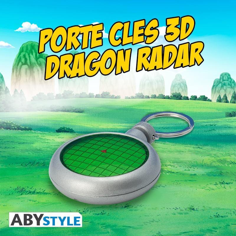 DRAGON BALL - Porte-Cles 3D Dragon Radar 'Sonore & Lumineux'