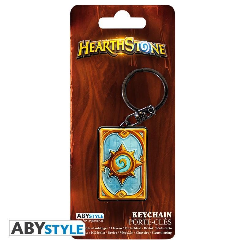 HEARTHSTONE - Porte-Cles Metal - Dos de Carte_3