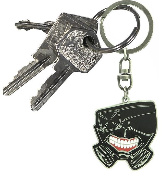 TOKYO GHOUL - Masque - Porte-clés en métal_2