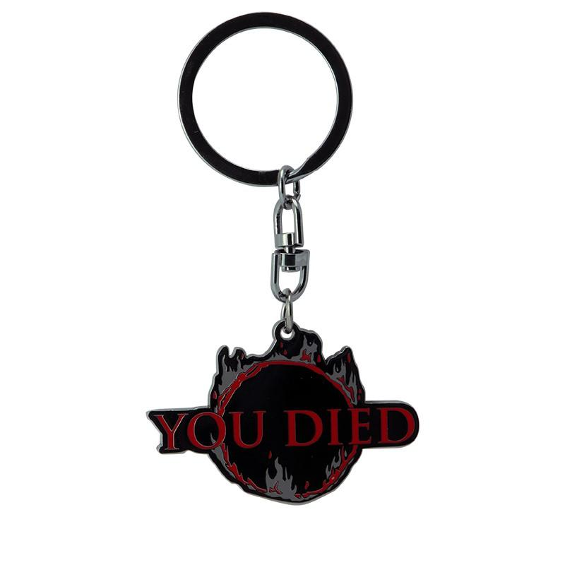 DARK SOULS - Porte-clés Metal - You Died_1