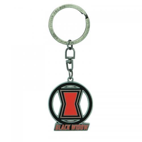 MARVEL - Black Widow - Porte-clés en métal