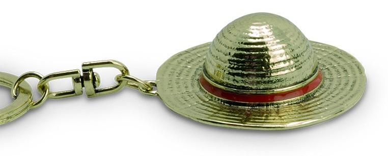 ONE PIECE - Chapeau de Luffy - Porte-Cles 3D_1