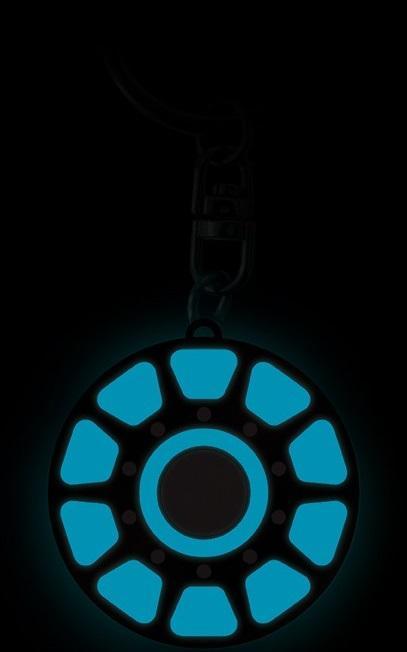 MARVEL - Coeur d'Iron Man - Porte-clés phosphorescent_2