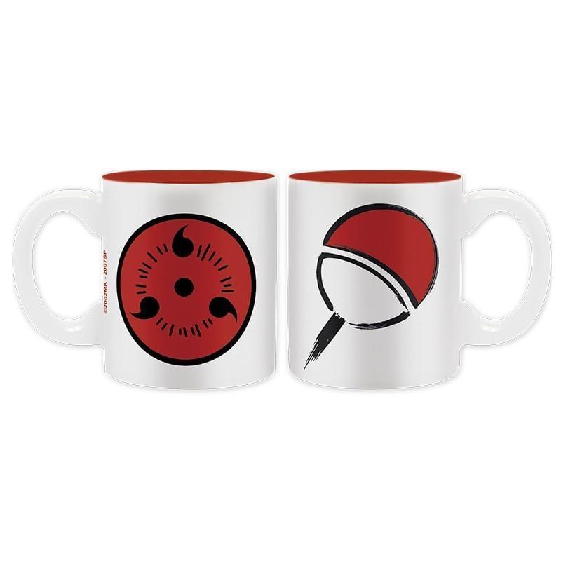 NARUTO SHIPPUDEN - Set 2 Mini-Mugs - Konoha / Uchiha_3