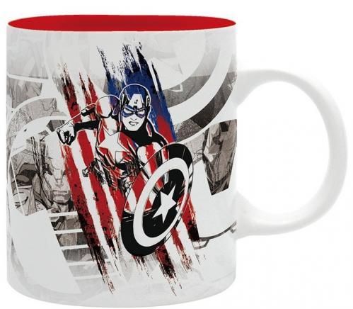 MARVEL - Captain America Design - Mug 320ml