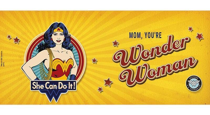 DC COMICS - Mug 320 ml - Wonder Woman mom - Subli_3