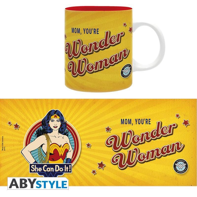 DC COMICS - Mug 320 ml - Wonder Woman mom - Subli_5