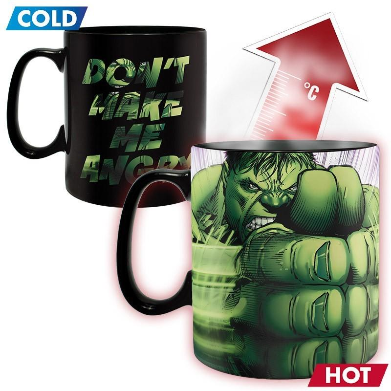 MARVEL - Mug Heat Change 460 ml - Hulk Smash
