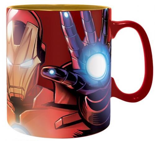 MARVEL - Armored Avenger - Mug effet métal 460 ml