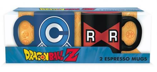 DRAGON BALL - Capsule C vs Ruban - Set de 2 mugs à espresso 110ml