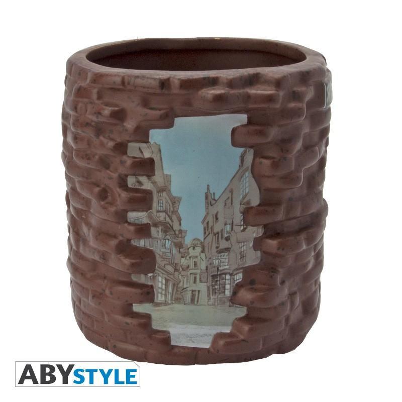 HARRY POTTER - Mug 500ml 3D - Chemin de Traverse_3