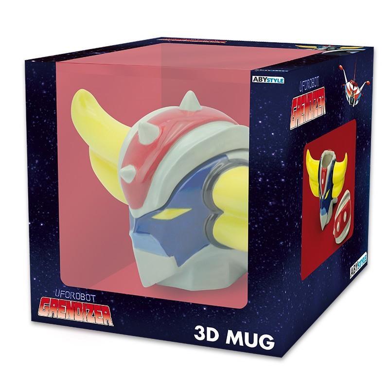 GRENDIZER - Mug 3D 250 ml - Goldorak