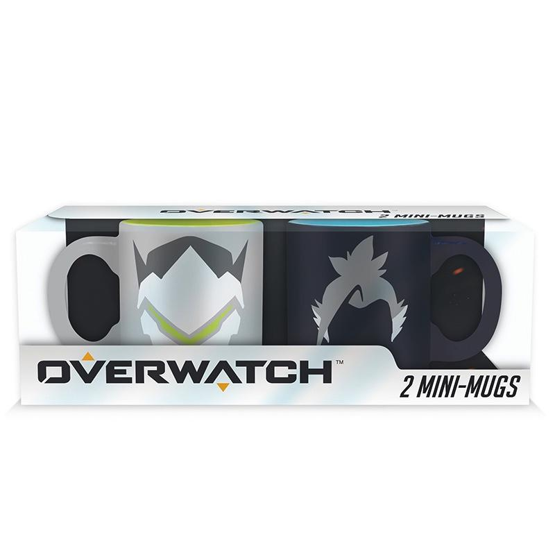 OVERWATCH - Set 2 Mini-Mugs - Hanzo / Genji